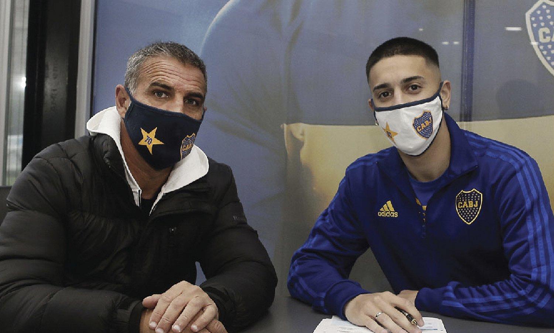 Agustín Sandez contrato